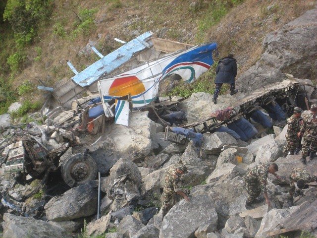 searching-the-remains-at-the-accident-site